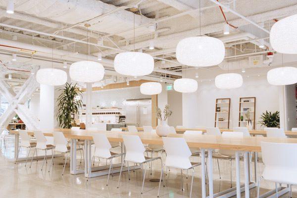 Flex Desks at the Studio Coworking Space in Beverly Hills