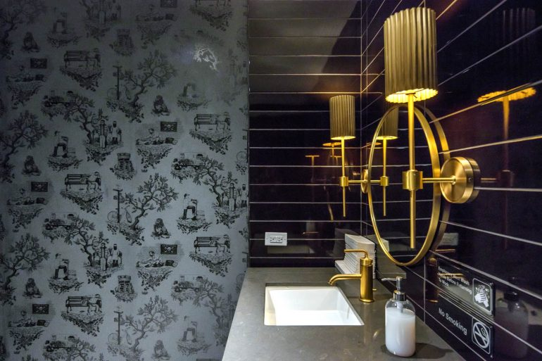 Bathroom at Studio at Rockefeller Center