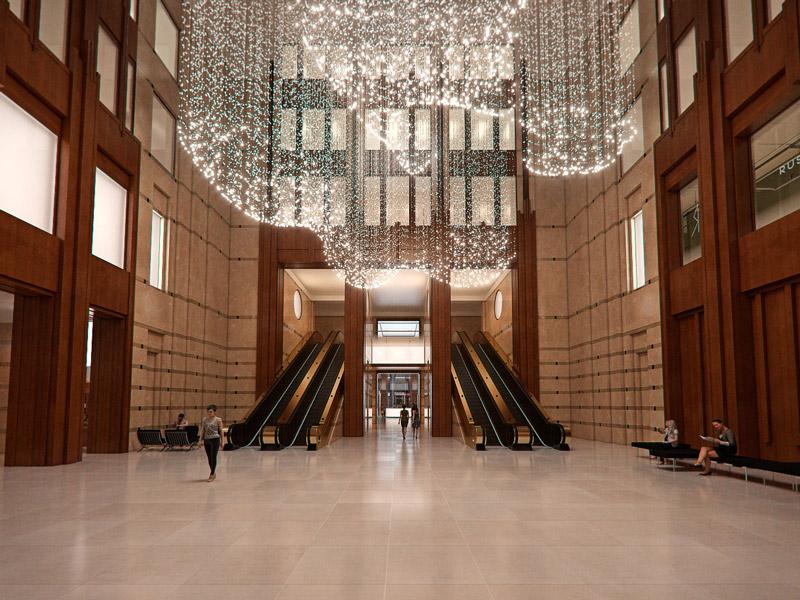 The Franklin Lobby
